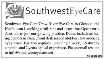 Help Wanted - Southwest Eye Care